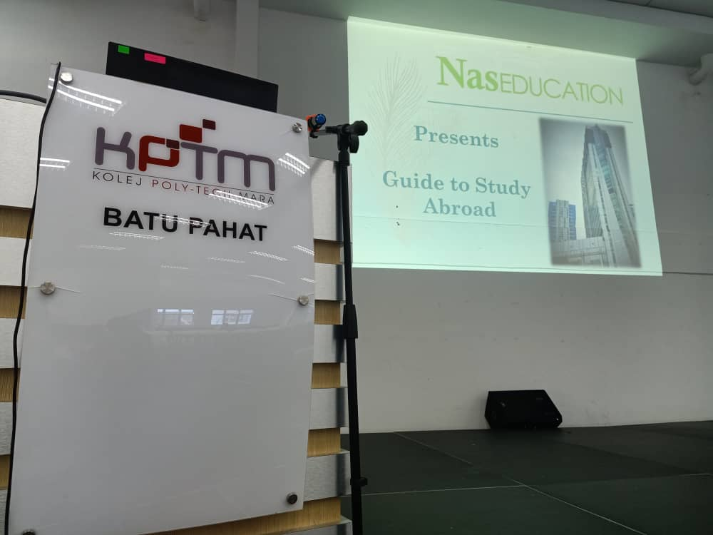 Study Abroad Seminar @ KPTM Batu Pahat